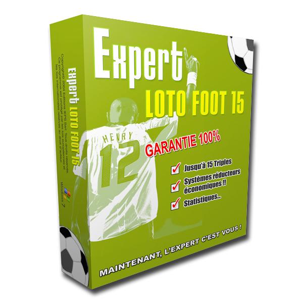 Logiciel Expert Lotofoot 15