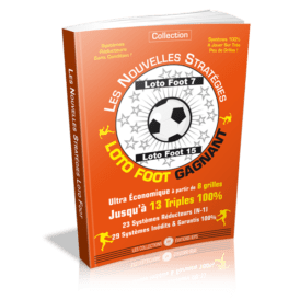Systèmes gagnants loto foot 7 & 15