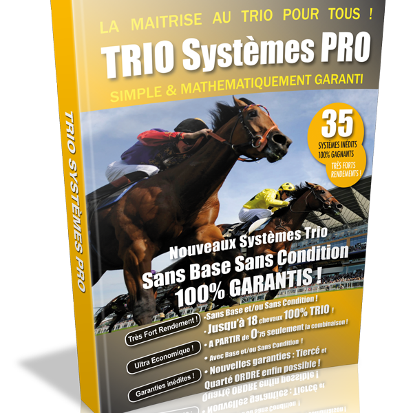 Systèmes garantis Trio PMU gagnant