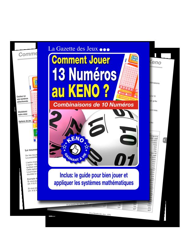 système keno 13 numéros