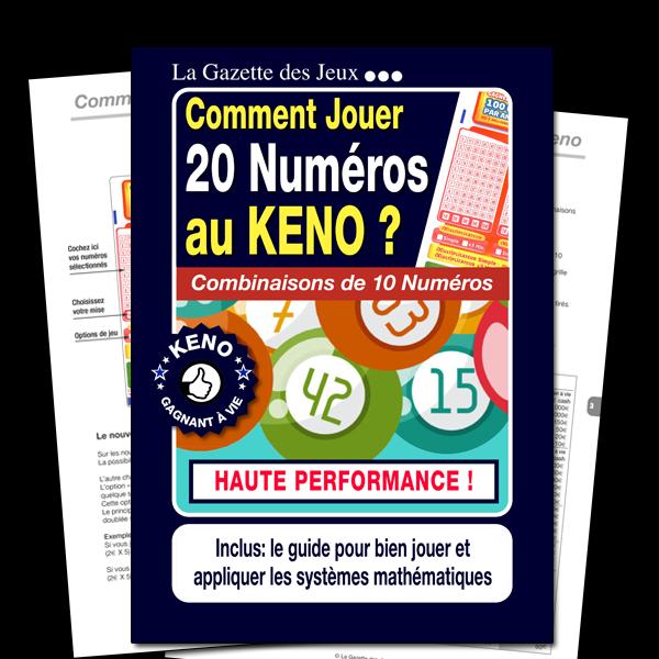 système keno 20 numéros