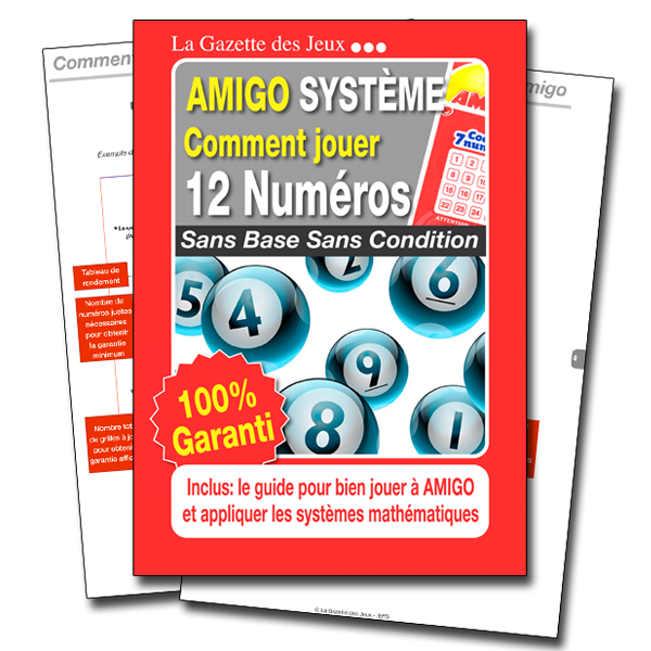système amigo 12 numéros