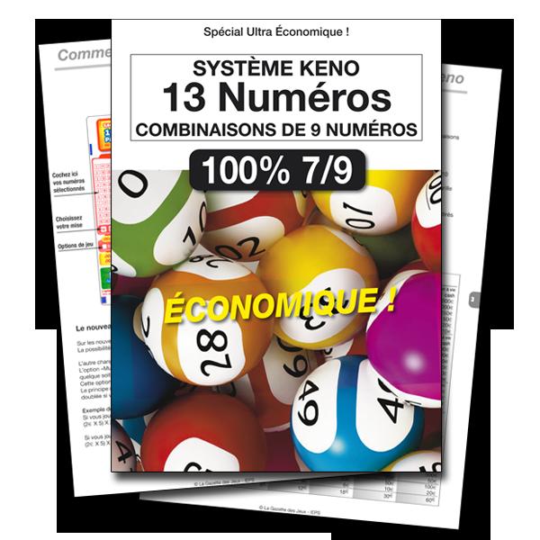 spécial keno gagnant à vie